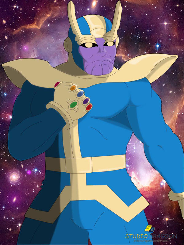 Thanos Reigns by dragoonx77