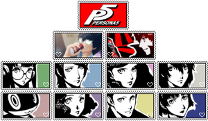 Persona 5 Stamp Bundle by Kodatsu