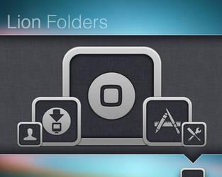 Lion Folders by ChrisTheNerd