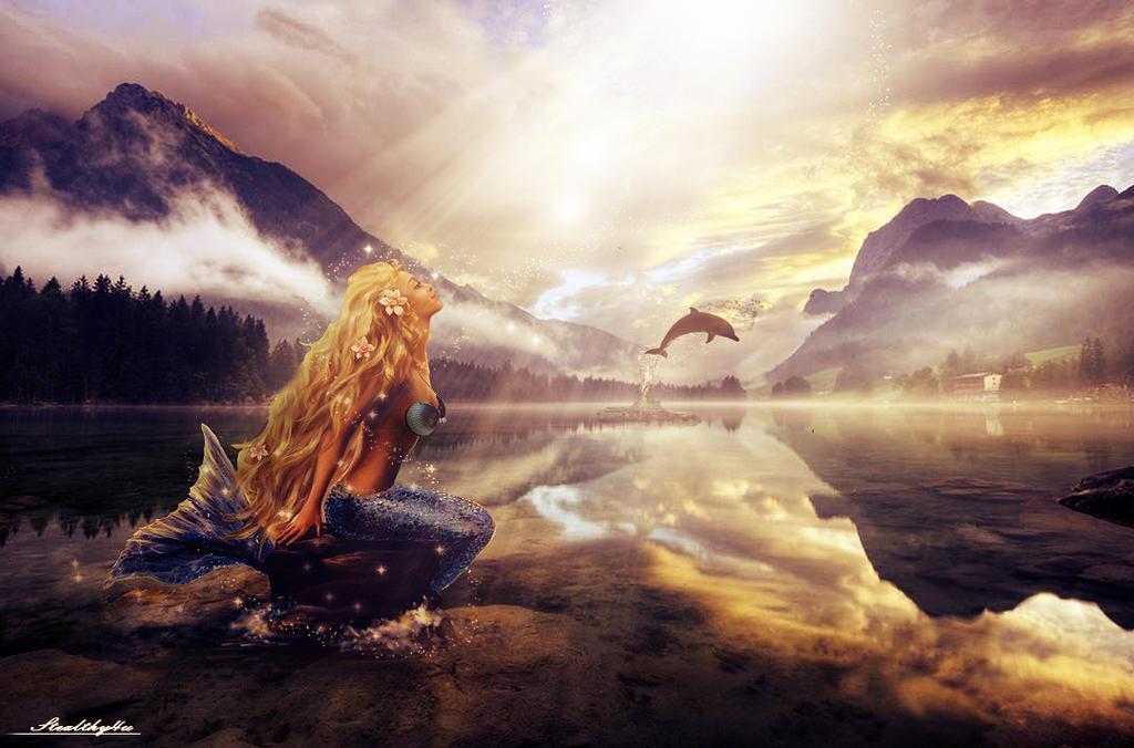 Lake-Mermaid Manip by Stealthy4u