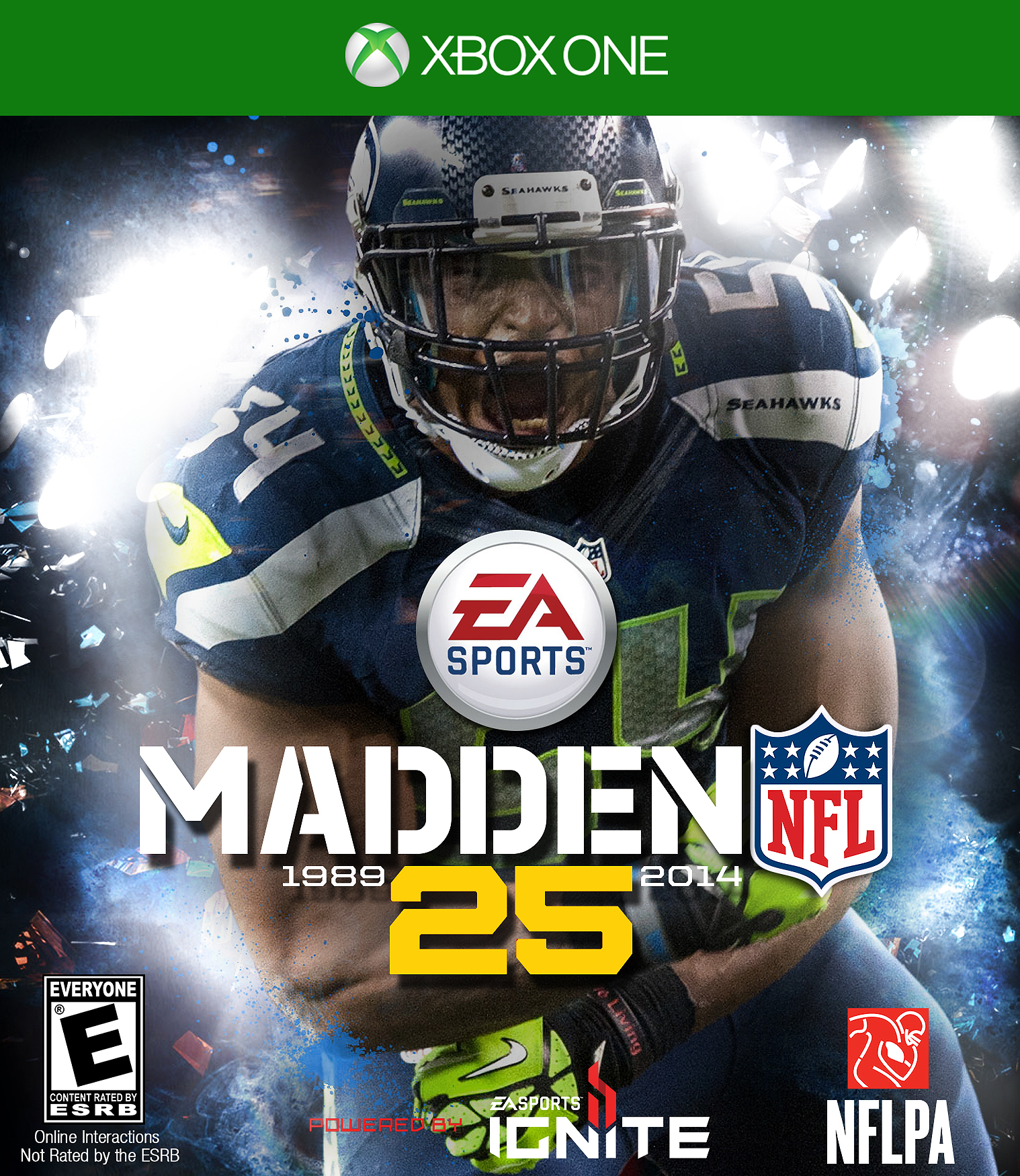 Bobby Wagner Madden 25 Xbox e Cover by Stealthy4u on DeviantArt