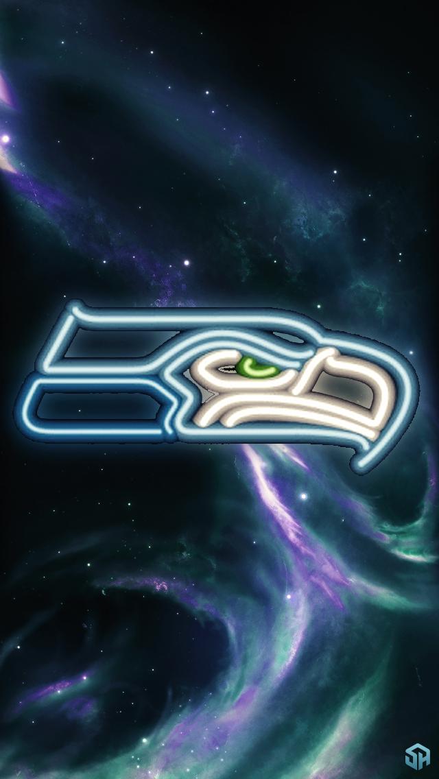 Neon Seahawk by Stealthy4u