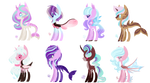 MLP Bred Adopts - Pastel Pones (1/8 Open)