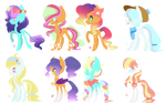 MLP Bred Adopts - Bright Foals (1/8 Open)