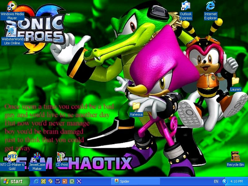 Team Chaotix Wallpaper by StrawberryHedgehog on deviantART