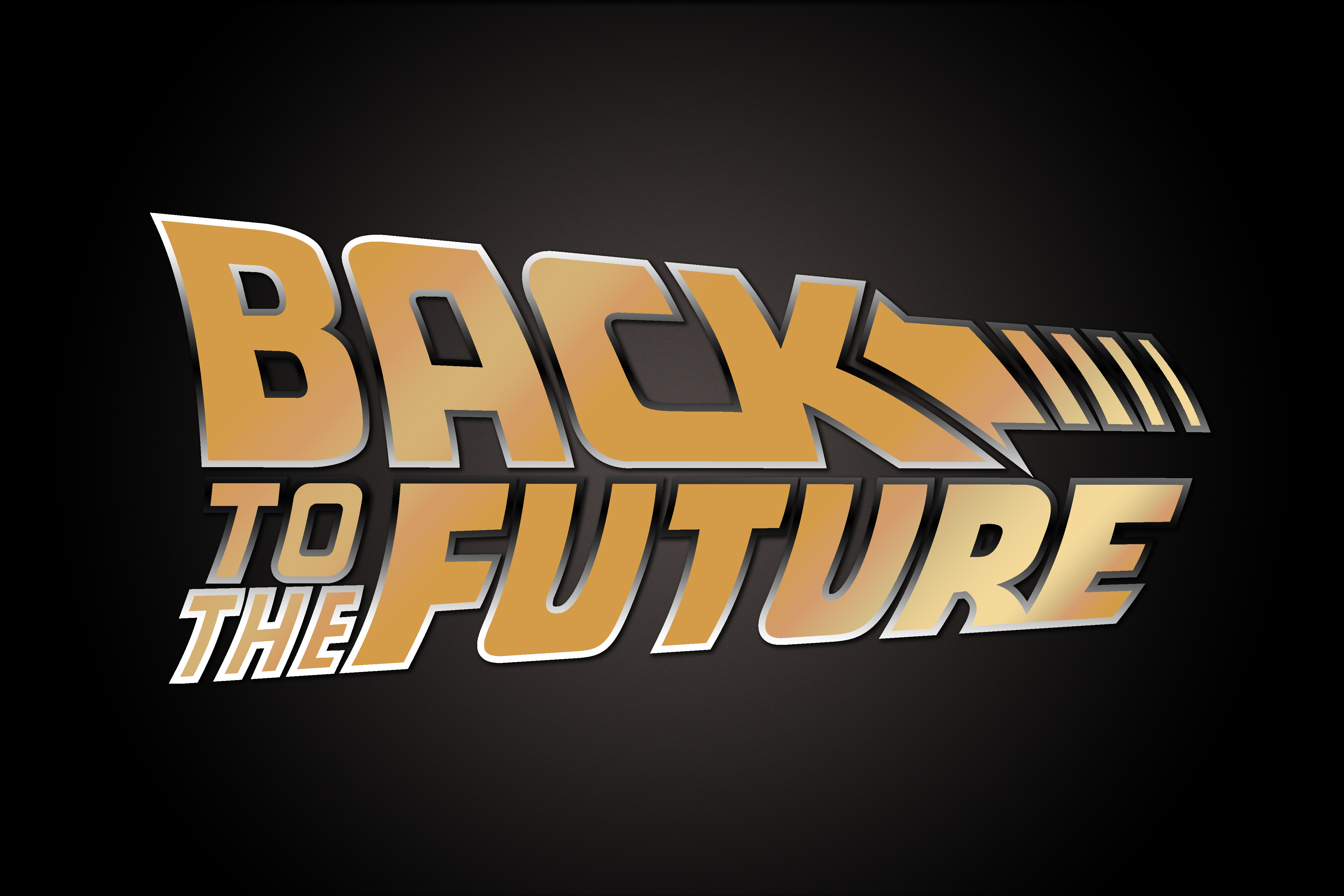 Back To The Future Golden Movie Logo By Freeco On Deviantart