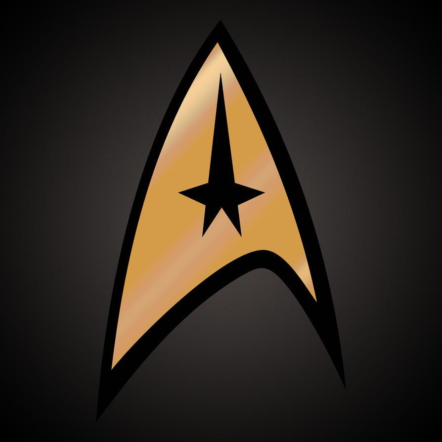 Star trek golden movie logo by freeco on deviantart - Star trek symbol wallpaper ...