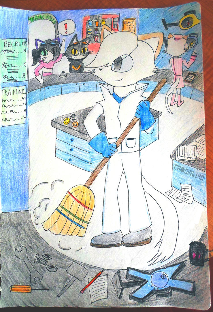 Jimmy's Shop by catgirl140