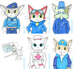 BLiNX Military Concept Characters