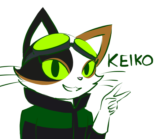 Keiko the Time Sweeper by catgirl140