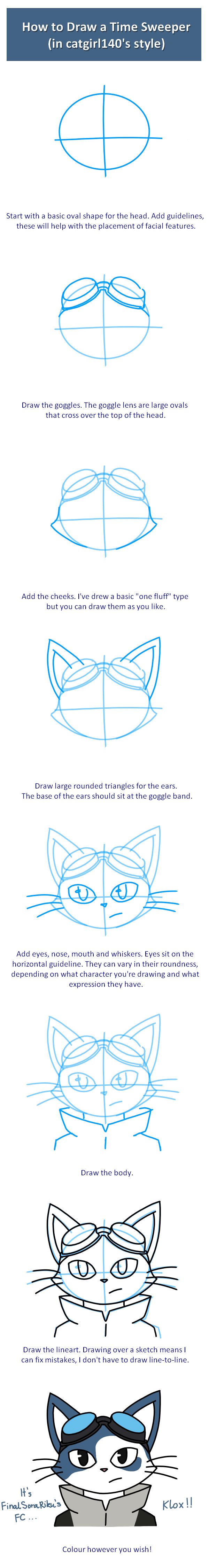TUTORIAL How to Draw a Time Sweeper by catgirl140