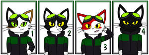 [Blinx OCs] Team Timewalker by catgirl140