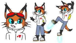 BLiNX x Bubsy Time Sweeper Design