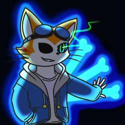 Blinx Undertale by catgirl140