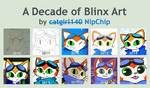 A Decade of Blinx Art