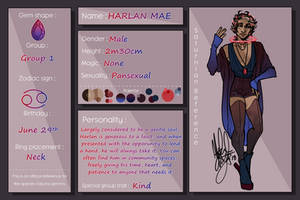 Harlan Mae-- Saturna Gemmis Official Reference by NewtonAugust