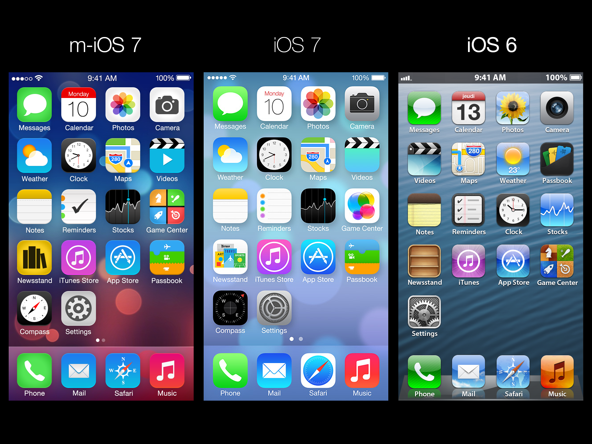 Apple iphone home screen wallpaper