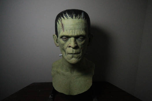 Frankenstein display mask (2016)
