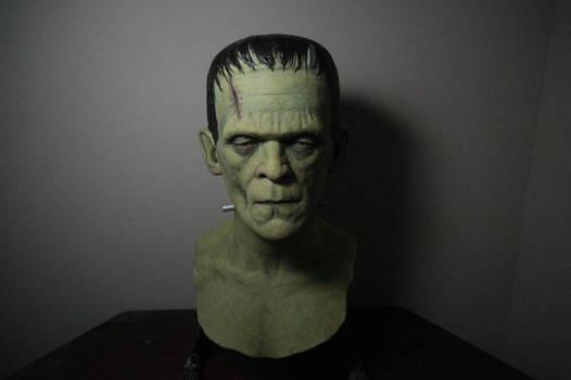 Frankenstein display mask (2016)