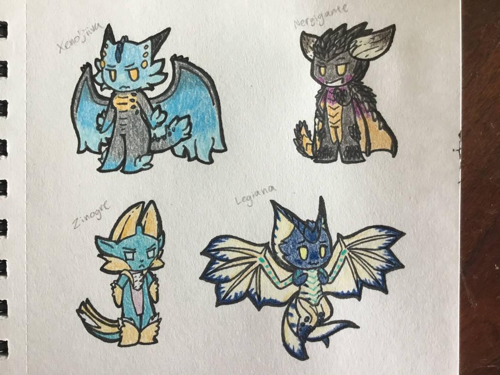 Cute Monster Hunter Picks by Alphysans