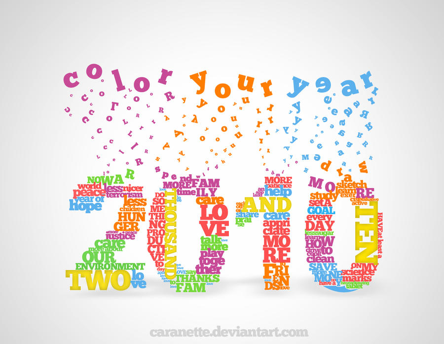 Color Your Year by caranette