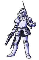 Knight 050317 by PaulGQ