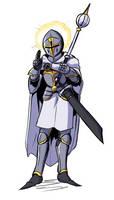 021918 Saintly Knight by PaulGQ