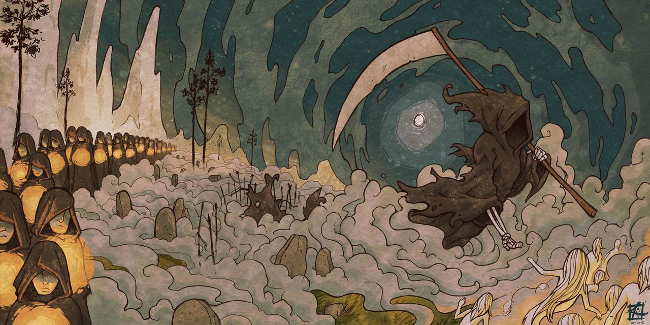the Reaper by KerriAitken