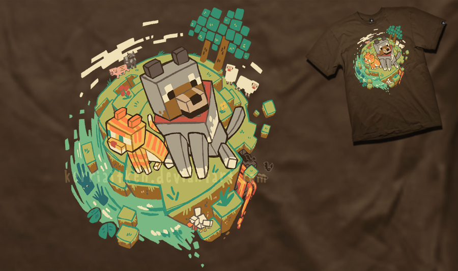 'the Unsung Heroes of Minecraft' Entry by KerriAitken
