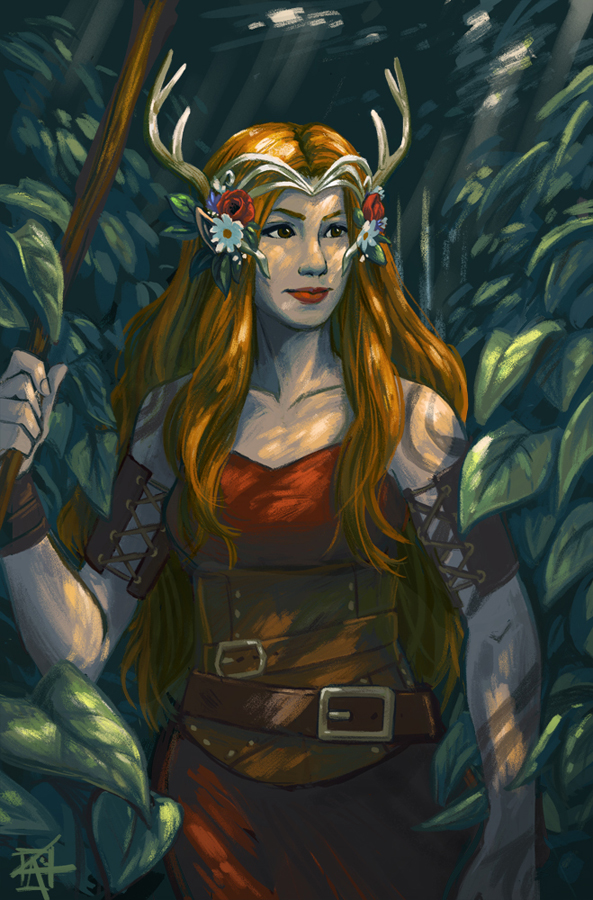 Keyleth by KerriAitken