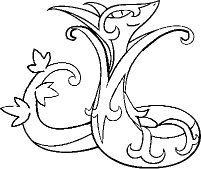 Serperior Lineart by SilverMoonWings on DeviantArt
