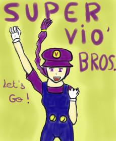 Violette est aussi une pro de Mario by Arbr09