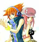 Neku and Shiki +revised+
