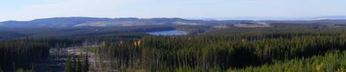 Mountain Lake by T-Thomas