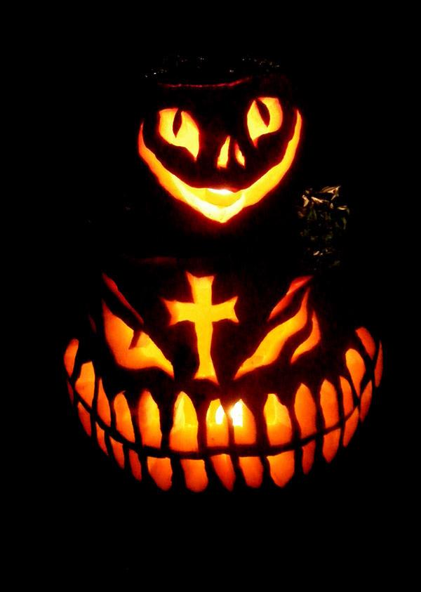 Pumpkin Totem by T-Thomas