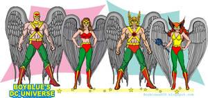 Hawkman and Hawkgirl 1