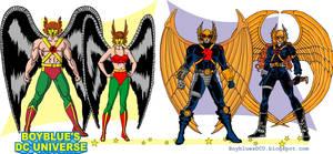 Hawkman and Hawkgirl 2