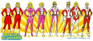 Evolution of Saturn Girl (Imra Ardeen)