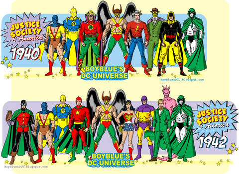 Justice Society of America (1940 and 1942)
