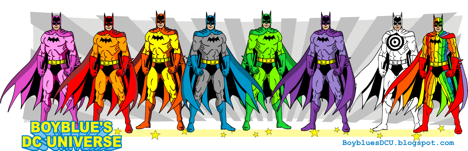 Rainbow Batmen and Target Batman by BoybluesDCU ...  sc 1 st  DeviantArt & Rainbow Batmen and Target Batman by BoybluesDCU on DeviantArt