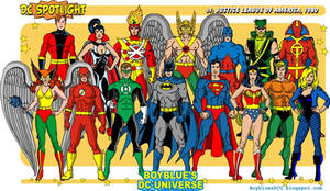 Justice League of America in 1980