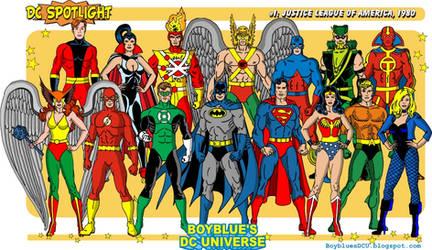 Justice League of America in 1980 by BoybluesDCU