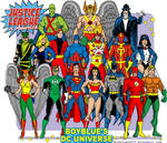 Early 80s JUSTICE LEAGUE OF AMERICA JLA Satellite