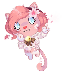 Pastel the Kitty | HTF OC by La-Cocotua
