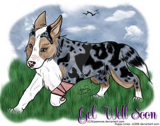 Get Well Soon Puppy