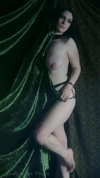 Druidess 17 by Phantasee-photo