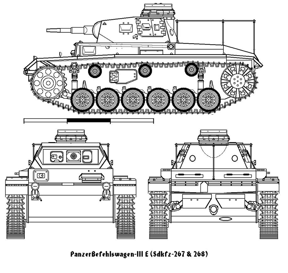 SDKFZ 267 PzBefWg III - Ausf E - Command Tank Befwg3e__ld__00abc_by_gorto100-d9molt2
