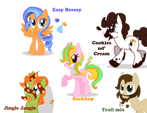 my little pony 35 point adopts