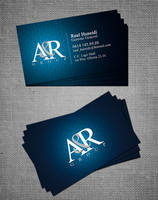 AyR group Business card by gustavitos