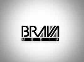 Logo BRAVA MEDIA by gustavitos